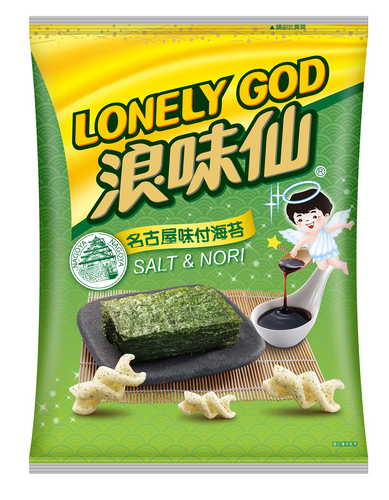 WW Potato Twist-Seaweed 86g <br> 旺旺 浪味仙-海苔口味