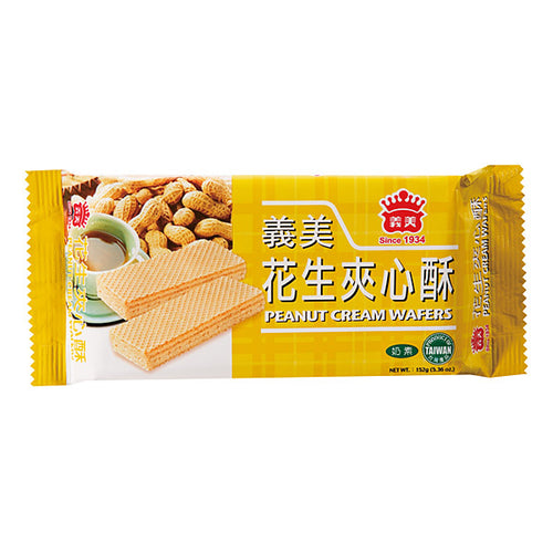 IMEI Peanut Cream Wafers 152g <br> 義美 花生夾心酥
