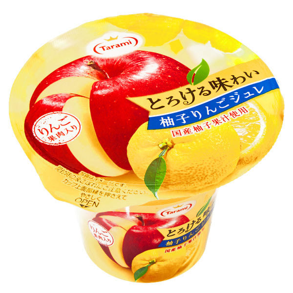 Tarami Yuzu Citrus Apple Flavoured Fruit Jelly 210g *** <br> Tarami 柚子蘋果果肉果凍