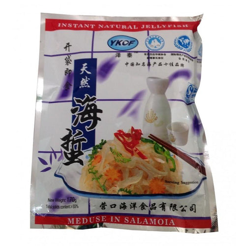 YKOF Instant Shredded Jelly Fish 170g <br> YKOF即食海蜇絲