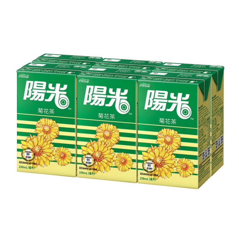 Hi-C Chrysanthemum Tea 250ml (6 Pack) *** <br> 陽光菊花茶 6包裝
