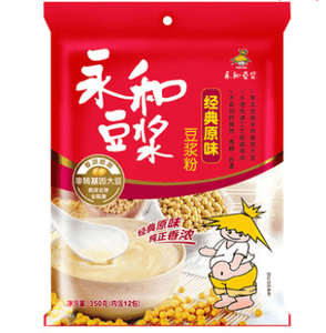 YH Soybean Powder - Original 350g <br> 永和原味豆漿粉