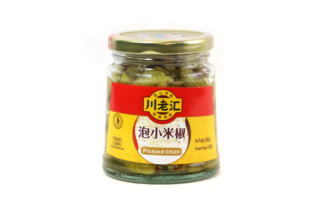 CLH Pickled Chilli 280g <br> 川老匯泡小米椒