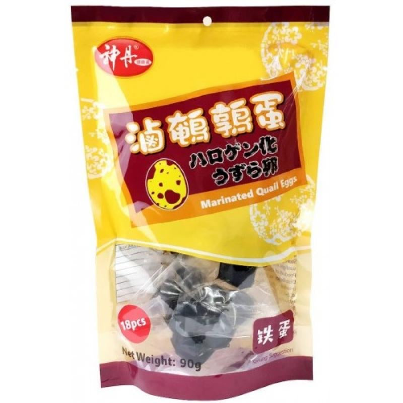 SD Marinated Quail Eggs Five Spice 90g <br> 神丹滷鵪鶉蛋-五香味鐵蛋