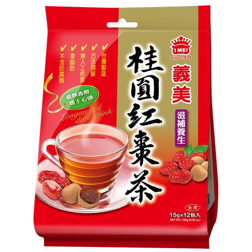IMEI Instant Longan Red Date Tea 180g <br> 義美桂圓紅棗茶