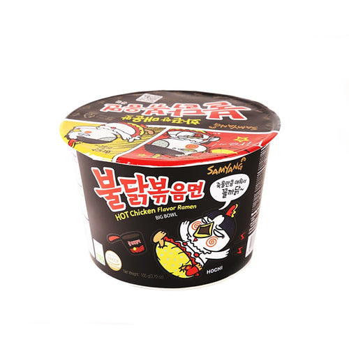 Samyang Hot Chicken Ramen Big Bowl 105g <br> 三養辣雞拉麵 碗麵