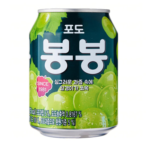 Haitai Bongbong Grape Juice 238ml *** <br> 海太 粒粒白葡萄果汁