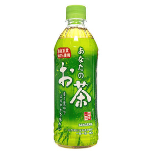Sangaria Anatano Ocha Green Tea 500ml <br> 三佳利天然綠茶