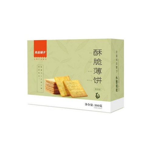 BS Crispy Cracker-Original 300g <br> 良品鋪子酥脆薄餅-原味