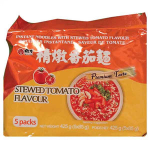 Wei Lih- Instant Noodle - Tomato Flavour (5Packs) 425g <br> 維力精燉番茄麵