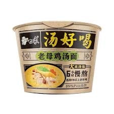 Bai Xiang Instant Noodles Bowl Noodle (Mature Chicken Soup) 107g <br> 白象方便麵碗裝-老母雞湯