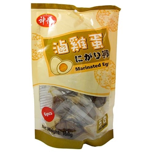 SD Marinated Chicken Eggs - Five Spices 168g <br> 神丹鹵雞蛋-五香