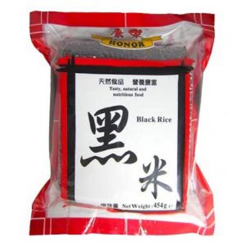 Honor Black Rice 454g <br> 康樂黑米
