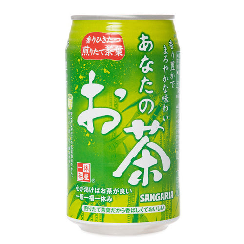 Sangaria Anatano Ocha Green Tea 340ml <br> 三佳利天然綠茶