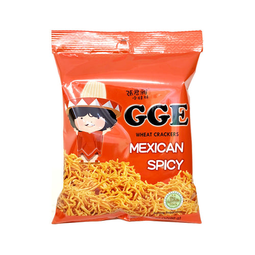 Wei Lih GCE Wheat Cracker - Mexican Spicy 80g <br> 維力張君雅點心麵 - 墨西哥香辣