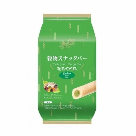 Yuki & Love Whole Grain Energy Bar - Matcha 160g <br> 雪之戀穀麥妃妃棒 - 抹茶