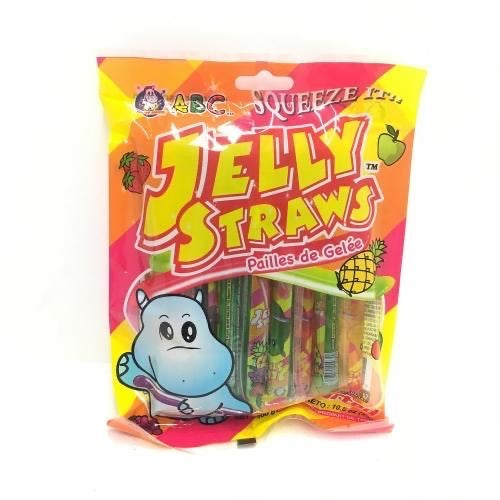 ABC Jelly Straws 300g <br> ABC果凍條