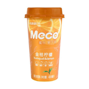 Xiang Piao Piao Meco Fruit Tea (Kumquat & Lemon) 400ml *** <br> 香飄飄蜜谷果汁茶金桔檸檬