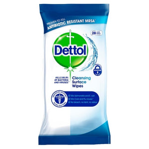 Dettol Anti-Bacterial Surface Wipes 28s ***