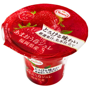 Tarami Amaou Strawberry Flavoured Fruit Jelly 210g *** <br> Tarami 草莓果肉果凍