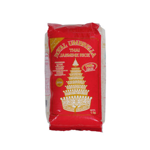 Royal Umbrella Thai Hom Mali Rice 1kg <br> 皇族泰國香米