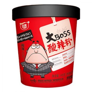BJ Big Boss Hot and Sour Vermicelli (bowl) 145g <br> 白家陳記阿寛大Boss 酸辣粉
