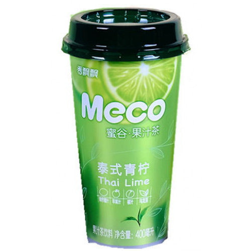Xiang Piao Piao Meco Fruit Tea (Thai Lime Tea) 400ml *** <br> 香飄飄蜜谷泰式青檸茶