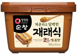 Chung Jung One Korean Soybean Paste 500g <br> Chung Jung One 韓式大豆醬