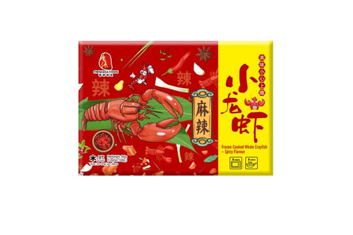 FRESHASIA Frozen Cooked Whole Crayfish - Spicy Flavour 900g <br> 香源麻辣小龍蝦