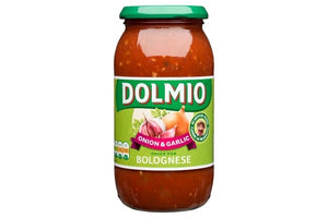 Dolmio Onion & Garlic Sauce for Bolognese 500g