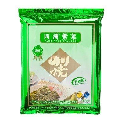 FS Seaweed-Wasabi Flavour (50Pack) 37.5g <br> 四洲紫菜-芥辣味 50包裝