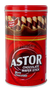 Astor Chocolate Wafer Stick 330g <br> Astor 巧克力卷心酥