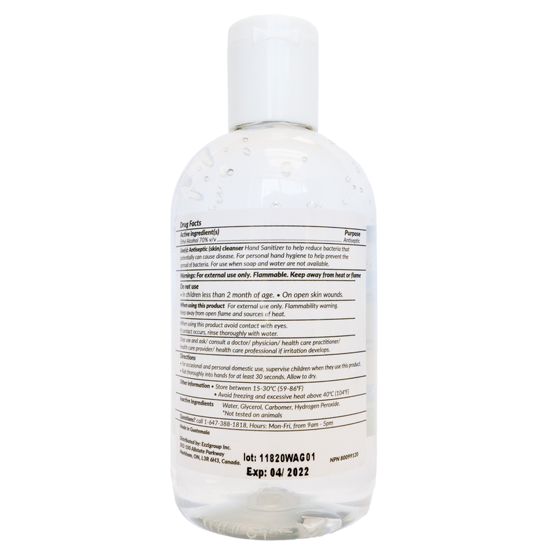 Gel Hand Sanitizer 240mL