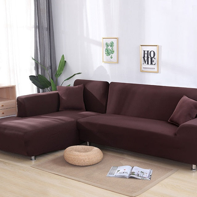Magic Sofa Stretchable Cover - LShape