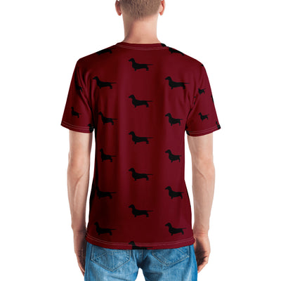 Red Dachshund Men's T-shirt