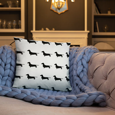 Dachshund Pillow and Case Set