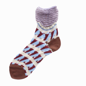 COQ Textile Butterfly socks -2 colours - MMW Concept