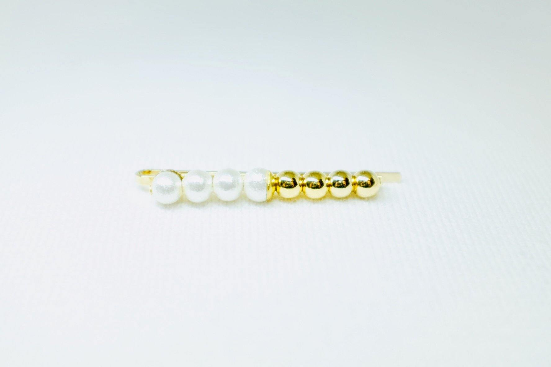 <The Pearl> Little Pon Pon hair pin
