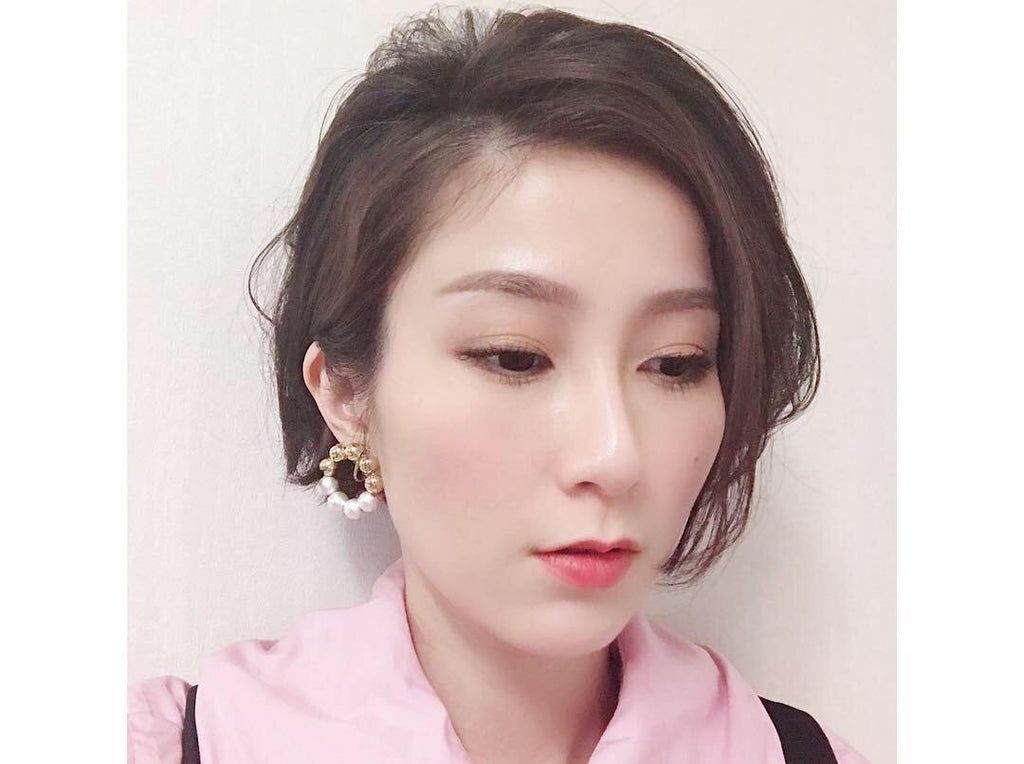 <The Pearl> Doughnut collection Pon Pon earrings