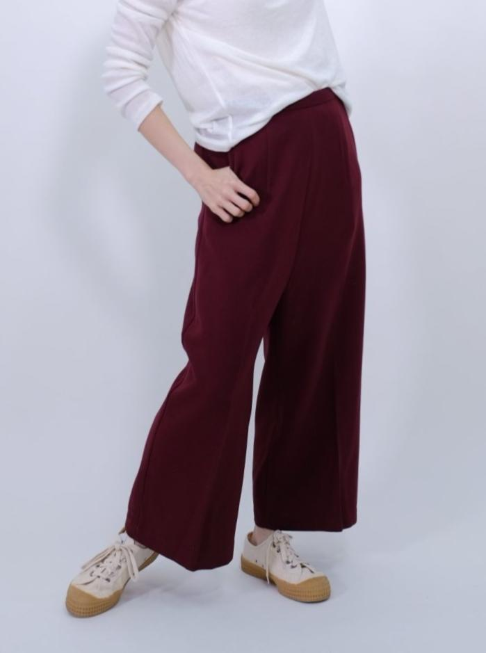 Low waist culottes