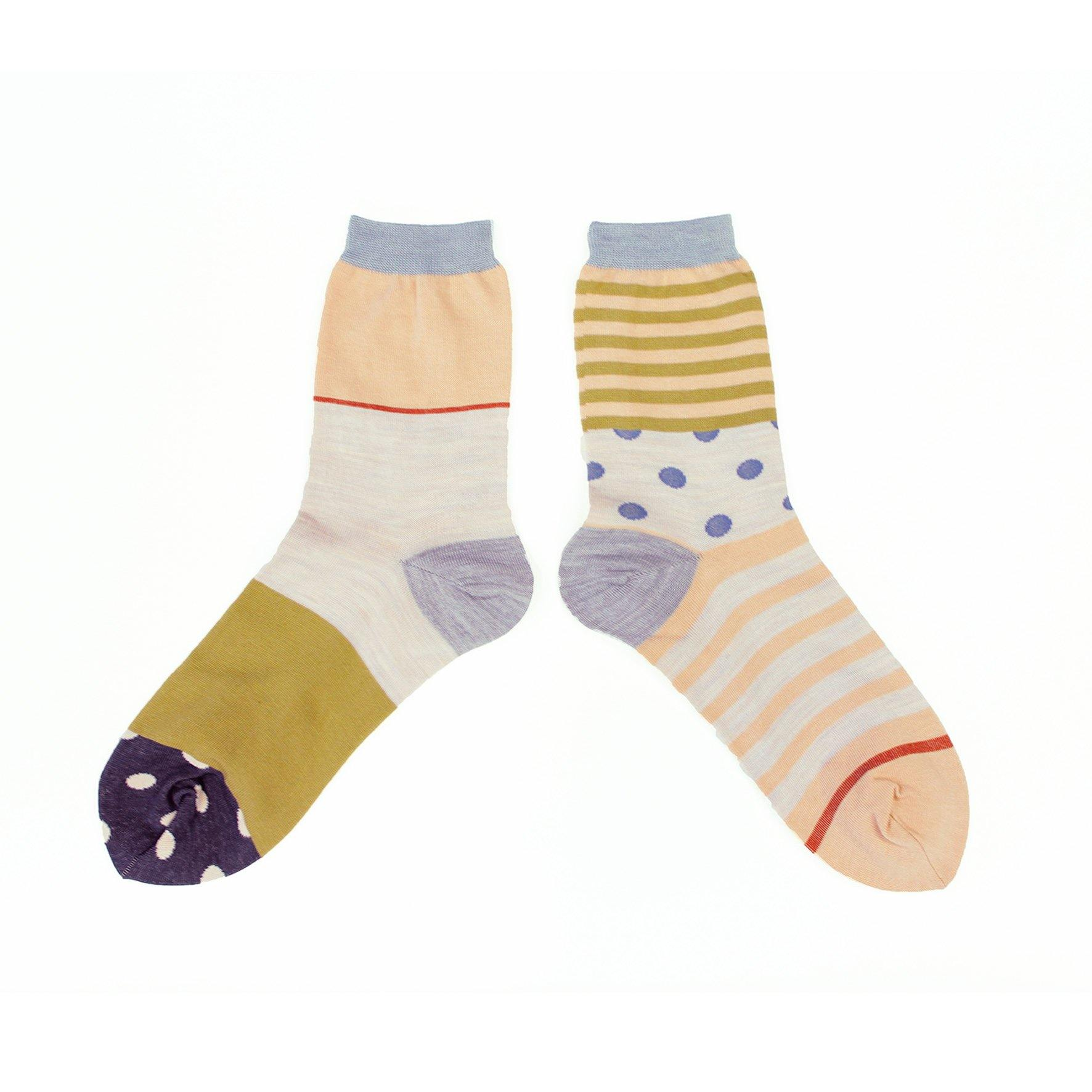 COQ Textile forest border socks -2 colours - MMW Concept