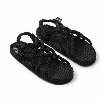 JC Sandal with Vibram sole- Black