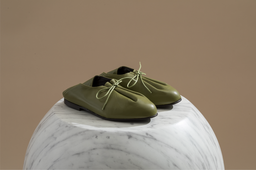 JACQUES SOLOVIERE Bed Shoes - Matcha - MMW Concept