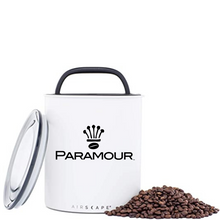 Load image into Gallery viewer, Paramour Coffee Airscape Coffee Bean Canister - 64 oz