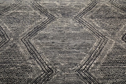 moroccan rug dark grey zoom