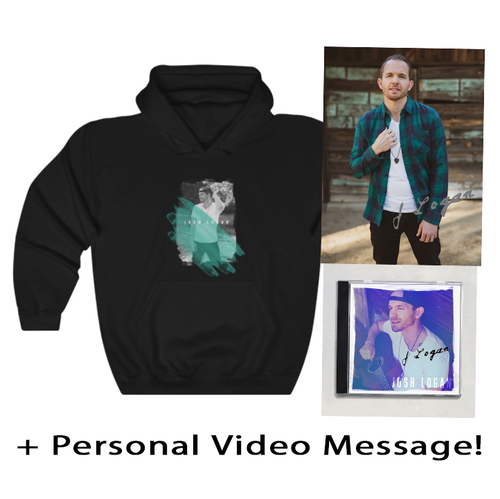 ULTIMATE FAN BUNDLE! Sweatshirt + Signed Physical Album + Autographed Photo + Personal Vid Message