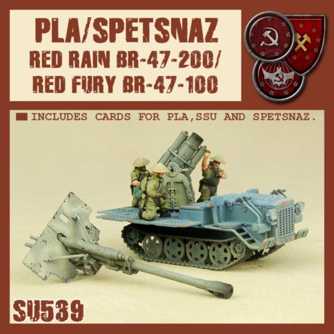 Spetsnaz/PLA Red Rain / Red Fury Support Tractor