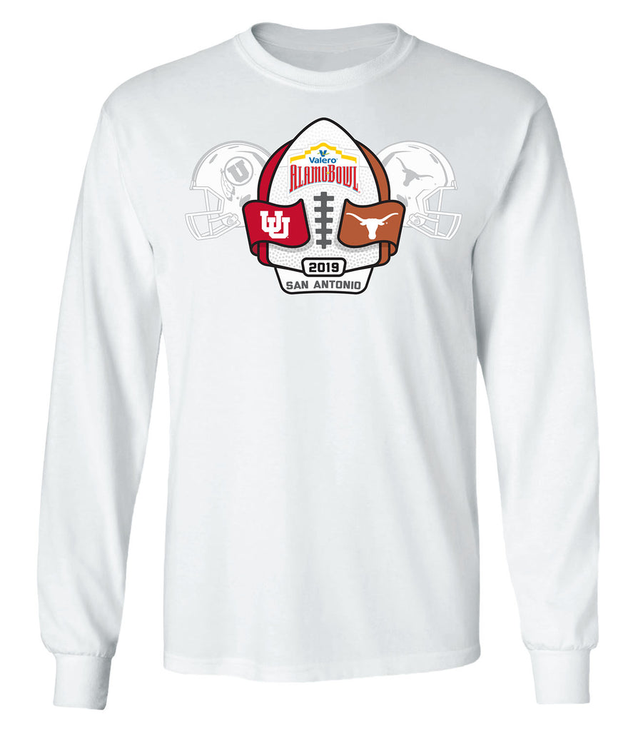 2019 Valero Alamo Bowl 2-Team Long Sleeve T
