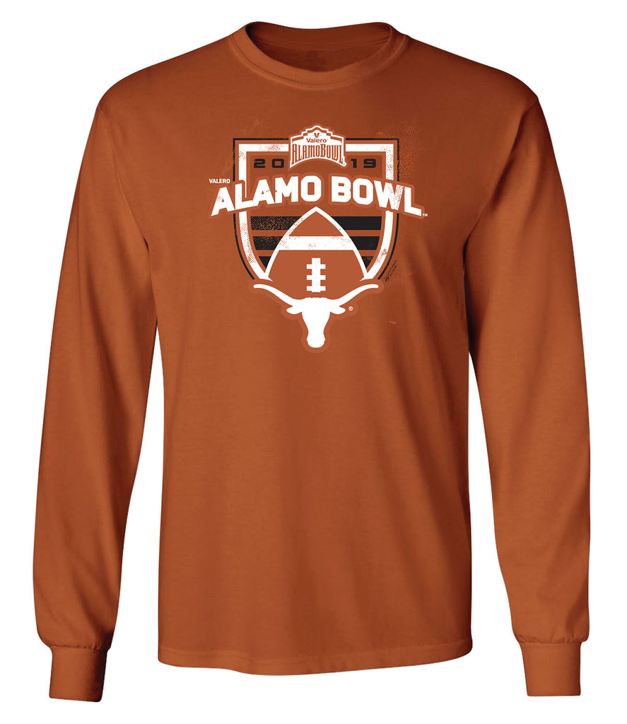 2019 Valero Alamo Bowl Texas Long Sleeve T
