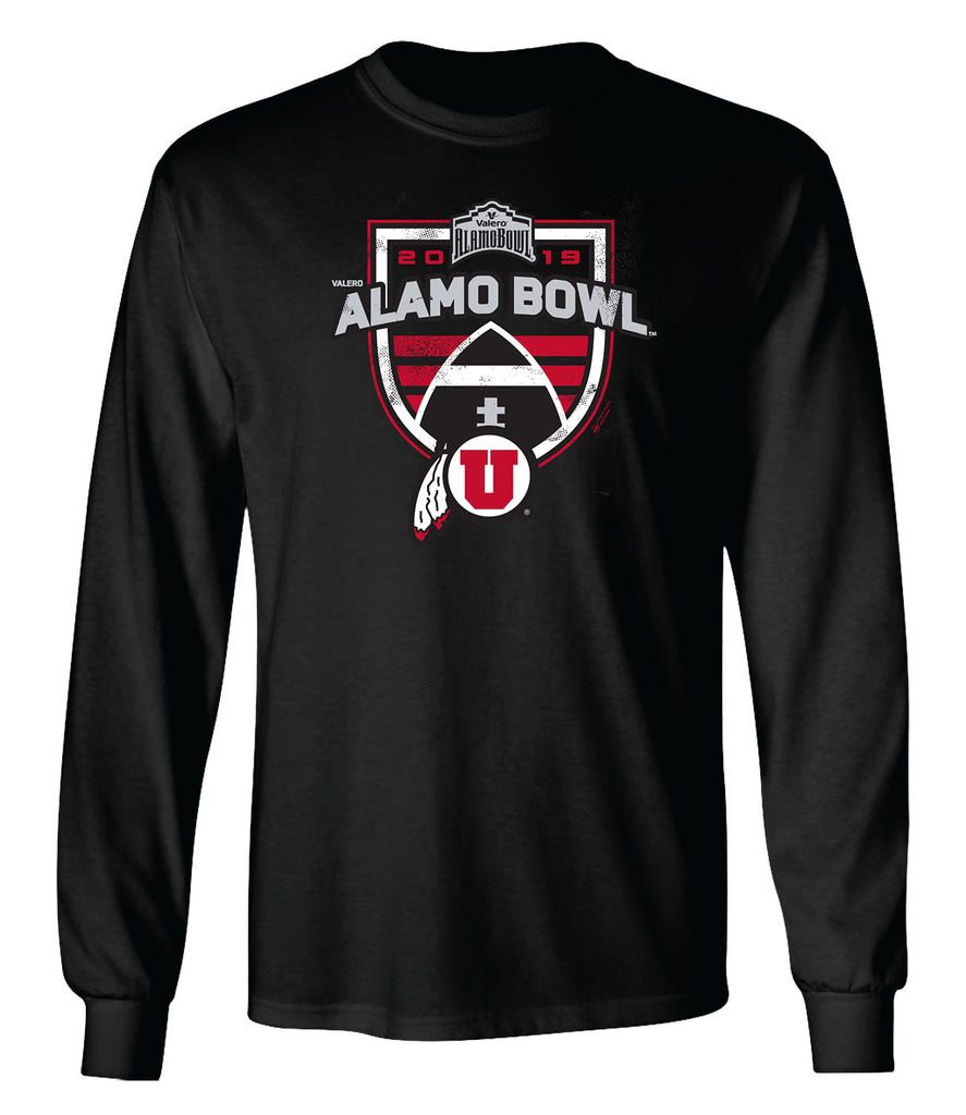 2019 Valero Alamo Bowl Utah Long Sleeve T